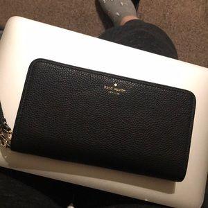 Kate spade brigitta leather wallet